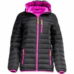 ALPINE PRO WUXI 2 černá XL - Dámská zimní bunda