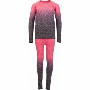 Arcore FEDOR růžová 140-146 - Dětské funkční termoprádlo
