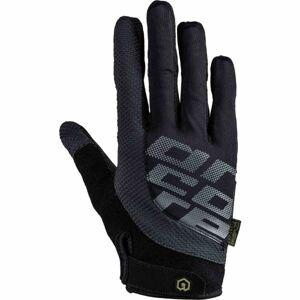 Arcore FORMER černá M - Dlouhoprsté cyklistické rukavice