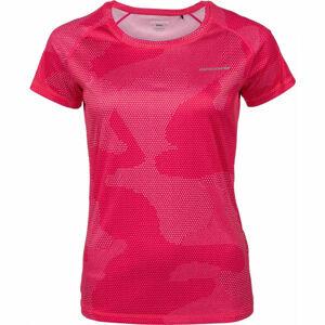 Arcore THEA růžová L - Dámské běžecké triko