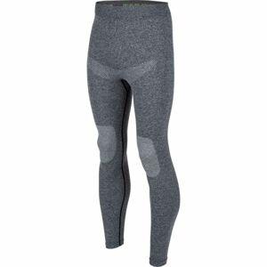 Arcore ROLL tmavě šedá L - Pánské funkční kalhoty