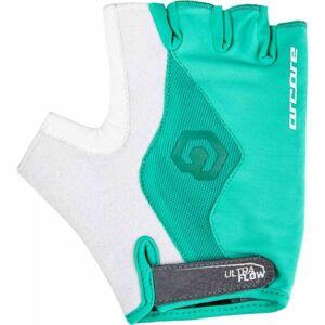 Arcore SOLO šedá S - Krátkoprsté cyklistické rukavice