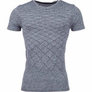 Arcore GREY černá M - Pánské bezešvé triko