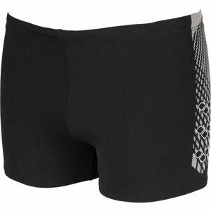 Arena M FEATHER SHORT černá 9 - Pánské plavky s nohavičkou