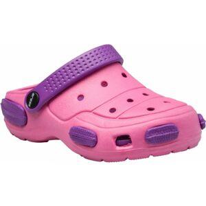 Aress ZONAR fialová 33 - Dětské pantofle