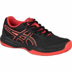 Asics GEL-GAME 7 GS CLAY/OC černá 3.5 - Dětská tenisová obuv