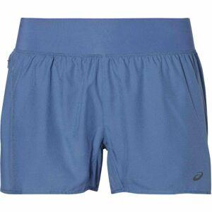 Asics COOL 2-N-1 SHORT modrá S - Dámské běžecké šortky