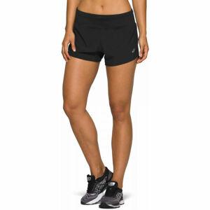 Asics ROAD 3.5IN SHORT černá M - Dámské běžecké šortky