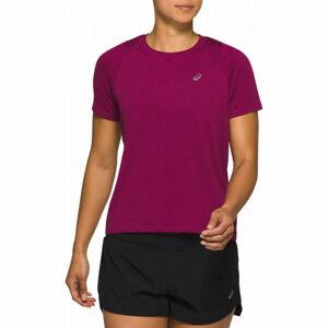 Asics TOKYO SS TOP fialová L - Dámské běžecké triko