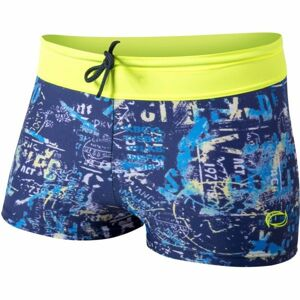 Axis NOHAVIČKOVÉ PRINT PLAVKY CHLAPECKÉ žlutá 128 - Chlapecké nohavičkové plavky