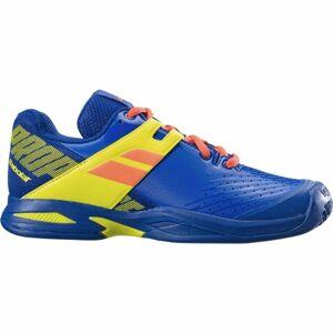Babolat PROPULSE JR  CLAY žlutá 5.5 - Juniorská tenisová obuv