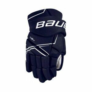 Bauer NSX GLOVES JR modrá 10 - Juniorské hokejové rukavice