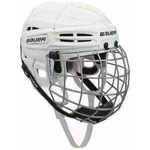 Bauer IMS 5.0 COMBO bílá L - Hokejová helma
