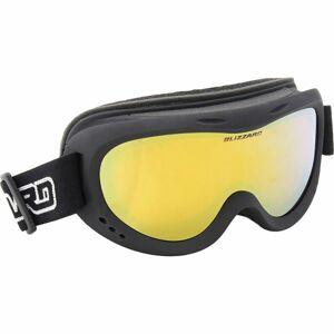 Blizzard 907 DAZO JR černá NS - Dětské sjezdové brýle