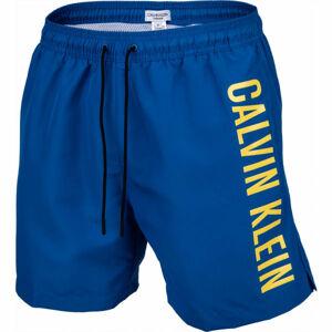 Calvin Klein MEDIUM DRAWSTRING modrá M - Pánské plavecké šortky