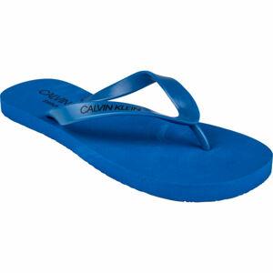 Calvin Klein FF SANDALS modrá 45/46 - Pánské žabky
