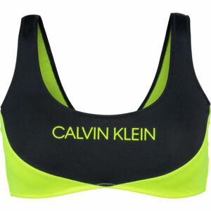 Calvin Klein BRALETTE  M - Dámský vrchní díl plavek