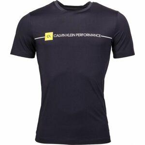 Calvin Klein SHORT SLEEVE TEE černá M - Pánské tričko