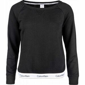 Calvin Klein TOP SWEATSHIRT LONG SLEEVE  XS - Dámská mikina
