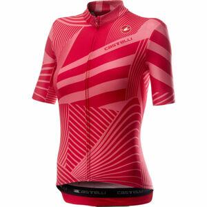 Castelli SUBLIME červená XL - Dámský dres