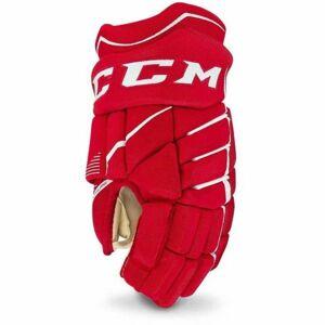 CCM JETSPEED 370 SR červená 13 - Hokejové rukavice