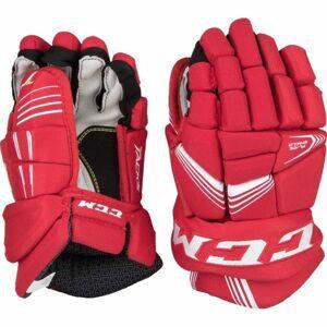 CCM TACKS 5092 JR červená 11 - Dětské hokejové rukavice