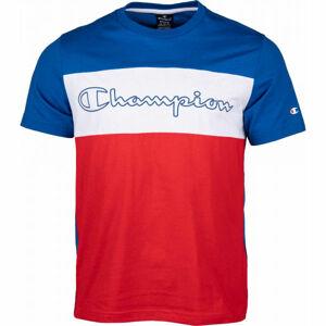 Champion CREWNECK T-SHIRT červená S - Pánské tričko