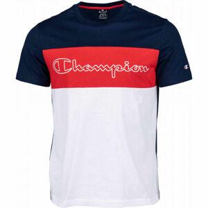 Champion CREWNECK T-SHIRT bílá L - Pánské tričko