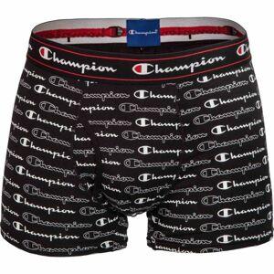 Champion BOXER CHAMPION ROCHESTER černá 2XL - Pánské boxerky