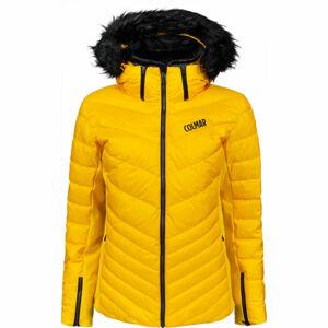 Colmar ANCOLIE SKI JACKET WITH DETACHABLE FUR  38 - Dámská péřová lyžařská bunda