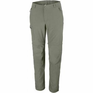 Columbia TRIPLE CANYON CONVERTIBLE PANT zelená 38/34 - Pánské outdoorové kalhoty