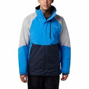 Columbia WILDSIDE™ JACKET modrá M - Pánská bunda