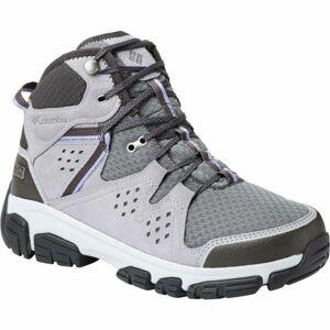 Columbia ISOTERRA MID OUTDRY šedá 7 - Dámské sportovní boty