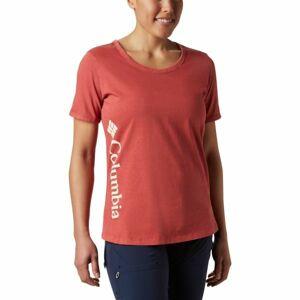 Columbia CSC W PIGMENT TEE červená XS - Dámské triko
