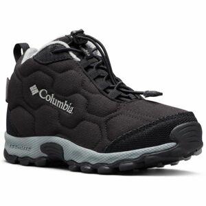 Columbia YOUTH FIRECAMP MID 2 WP černá 5 - Dětské trekingové boty