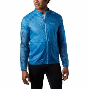 Columbia M F.K.T WINDBREAKER JACKET modrá M - Pánská sportovní bunda