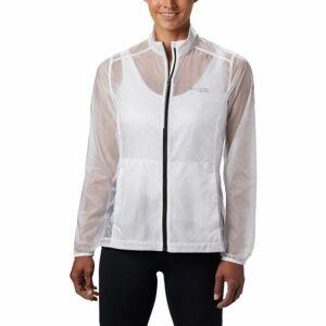 Columbia W F.K.T WINDBREAKER JACKET bílá M - Dámská sportovní bunda