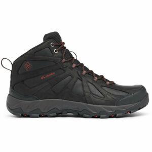 Columbia PEAKFREAK XCRSN II MID LTHR černá 11 - Pánská trailová obuv