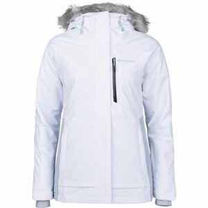 Columbia AVA INSULATED JACKET bílá L - Dámská zateplená lyžařská bunda