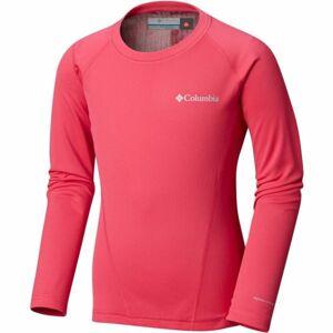 Columbia MIDWEIGHT CREW 2 růžová XXS - Dětské funkční triko