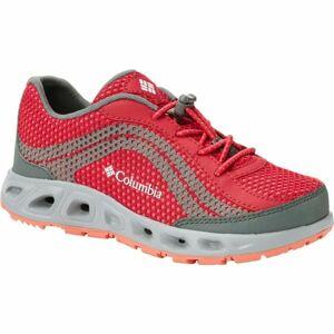 Columbia CHILDRENS DRAINMAKER IV červená 12.5 - Dětské outdoorové boty