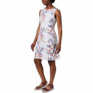 Columbia CHILL RIVER™ PRINTED DRESS bílá XS - Dámské šaty s potiskem