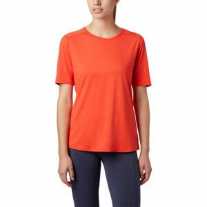 Columbia CHILL RIVER™ SS oranžová M - Dámské triko
