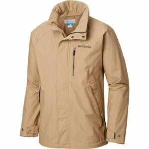 Columbia GOOD WAYS II JACKET béžová XL - Pánská outdoorová bunda