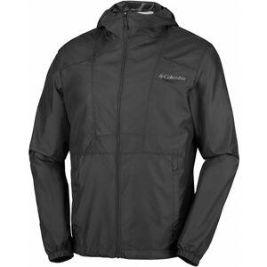 Columbia FLASHBACK WINDBREAKER černá S - Lehká pánská sbalitelná bunda