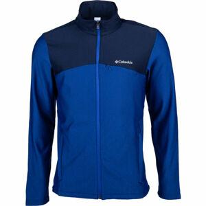 Columbia MAXTRAIL™ MIDLAYER FLEECE modrá M - Pánská flísová bunda