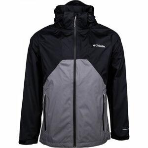 Columbia RAIN SCAPE JACKET černá XXL - Pánská bunda