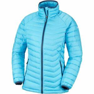 Columbia POWDER LITE JACKET modrá XS - Dámská zimní bunda