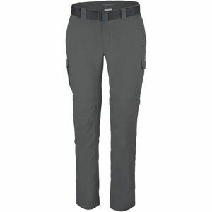 Columbia SILVER RIDGE II CONVERTIBLE PANT tmavě šedá 38/36 - Pánské outdoorové kalhoty