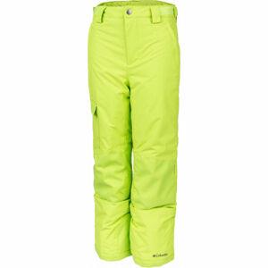 Columbia Y BUGABOO II PANT červená S - Dětské zateplené kalhoty